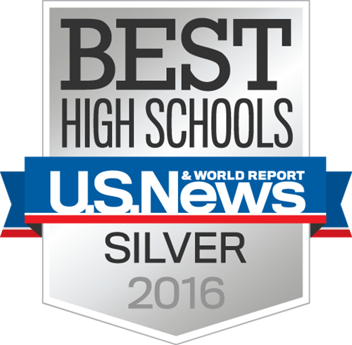 US News World Report Silver Banner